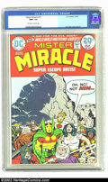 Bronze Age (1970-1979):Superhero, Mister Miracle #18 (DC, 1974) CGC NM+ 9.6 Off-white to white pages. This issue features great cover and interior art by Jack...