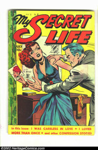 My Secret Life #22 (Fox Features Syndicate, 1949) Condition = VG-. Classic Fox good girl / crime title. Overstreet 2002...