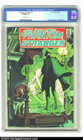Bronze Age (1970-1979):Horror, Phantom Stranger #12 (DC, 1971) CGC VF/NM 9.0 Off-white pages. NealAdams cover, Jim Aparo art. Overstreet 2002 NM 9.4 value...