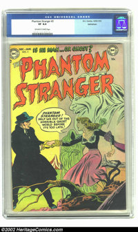 The Phantom Stranger #3 Bethlehem pedigree (DC, 1953) CGC VF 8.0 Off-white to white pages. Not only a high-grade pedigre...