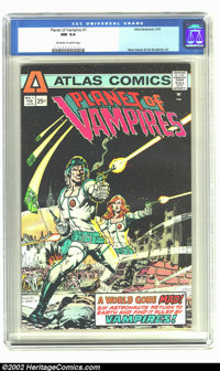 Planet of Vampires #1 (Atlas-Seaboard, 1975) CGC NM 9.4 Off-white to white pages. Neal Adams and Pat Broderick art. Over...
