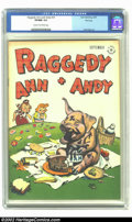 Golden Age (1938-1955):Cartoon Character, Raggedy Ann and Andy #16 File Copy (Dell, 1947) CGC VF/NM 9.0 Creamto off-white pages. Walt Kelly art. Overstreet 2002 NM 9...