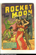 Golden Age (1938-1955):Science Fiction, Rocket to the Moon nn (Avon, 1951) Condition = GD-. Great Fiftiesscience-fiction title. This book is complete and readable....