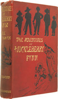 Books:First Editions, Mark Twain. The Adventures of Huckleberry Finn. (Tom Sawyer¹sComrade). London: Chatto & Windus, 1884....