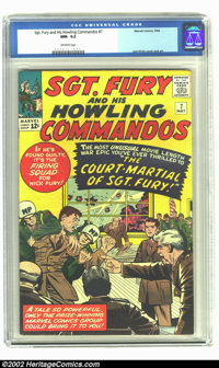 Sgt. Fury #7 (Marvel, 1964) CGC NM- 9.2 Off-white pages. NO copies have been graded higher by CGC! Overstreet 2002 NM 9...