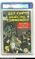 Silver Age (1956-1969):War, Sgt. Fury #21 (Marvel, 1965) CGC NM 9.4 Off-white pages. Only one copy has been graded higher by CGC. Overstreet 2002 NM 9.4...