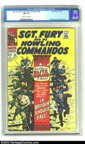 Silver Age (1956-1969):War, Sgt. Fury #48 (Marvel, 1967) CGC NM- 9.2 Off-white to white pages. Return of Blitz Squad. Art by Dick Ayers and John Severin...