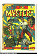 Golden Age (1938-1955):Horror, Shocking Mystery Cases #51 (Star Publications, 1952) Condition =GD. Classic eyeball cover by L. B. Cole on this scarce Fift...