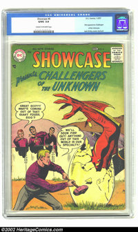 Showcase #6 (DC, 1957) CGC GD/VG 3.0 Cream to off-white pages. First appearance of Challengers of the Unknown; Origin of...