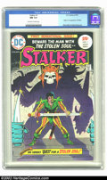 Bronze Age (1970-1979):Superhero, Stalker #1 (DC, 1975) CGC NM 9.4 Off-white to white pages. Origin and first appearance of Stalker; Steve Ditko and Wally Woo...