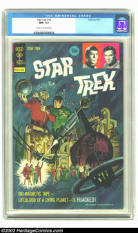 Star Trek #18 (Gold Key, 1973) CGC NM- 9.2 Cream to off-white pages. Overstreet 2002 NM 9.4 value = $100