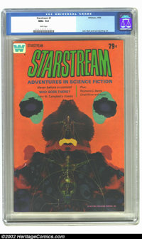 Starstream #1 (Whitman, 1976) CGC NM+ 9.6 White pages. Jack Abel and Jack Sparling art. Overstreet 2002 NM 9.4 value = $...