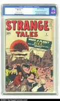 Silver Age (1956-1969):Horror, Strange Tales #97 (Marvel, 1962) CGC FN- 5.5 Off-white to whitepages. Aunt May & Uncle Ben prototype characters. Overstreet...