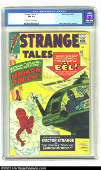 Strange Tales #117 (Marvel, 1964) CGC NM 9.4 Off-white to white pages. Only one copy has been graded higher by CGC. Over...