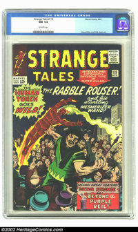 Strange Tales #119 (Marvel, 1964) CGC NM 9.4 Off-white pages. Human Torch appearance; Spider-Man appearance. Only one co...