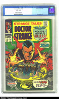 Silver Age (1956-1969):Horror, Strange Tales #156 (Marvel, 1967) CGC NM- 9.2 Off-white to whitepages. Jim Steranko artwork. Overstreet 2002 NM 9.4 value =...