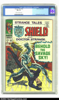 Silver Age (1956-1969):Superhero, Strange Tales #165 (Marvel, 1968) CGC NM 9.4 Cream to off-white pages. Jim Steranko cover and artwork. Overstreet 2002 NM 9....