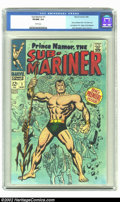 Silver Age (1956-1969):Superhero, The Sub-Mariner #1 (Marvel, 1968) CGC VF/NM 9.0 White pages. Overstreet 2002 NM 9.4 value = $200....