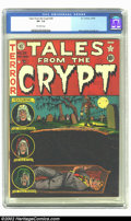 Golden Age (1938-1955):Horror, Tales From the Crypt #28 (EC, 1952) CGC VF- 7.5 Off-white pages.Davis, Kamen and Ingels art. Overstreet 2002 VF 8.0 value =...