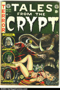 Golden Age (1938-1955):Science Fiction, Tales From the Crypt #32 (EC, 1952) Condition: FN. Overstreet 2002FN 6.0 value = $111....