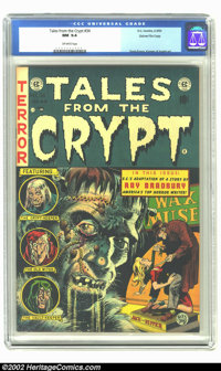 Tales From the Crypt #34 Gaines File pedigree 7/12 (EC, 1953) CGC NM 9.4 Off-white pages. Sweet Frankenstein cover! This...
