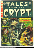 Golden Age (1938-1955):Horror, Tales From the Crypt #34 (EC, 1953) Condition: VG+. CoolFrankenstein cover. Used in POP, lingerie panels. Overstreet 2002G...