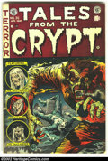 Golden Age (1938-1955):Horror, Tales From the Crypt #35 (EC, 1953) Condition: VG. Overstreet 2002GD 2.0 value = $37; FN 6.0 value = $111....