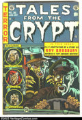 Golden Age (1938-1955):Horror, Tales From the Crypt #36 (EC, 1953) Condition: FN. Contains RayBradbury adaptation. Overstreet 2002 FN 6.0 value = $111....