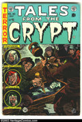 Golden Age (1938-1955):Horror, Tales From the Crypt #42 (EC, 1954) Condition: VG. Overstreet 2002GD 2.0 value = $36; FN 6.0 value = $108....