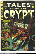 Golden Age (1938-1955):Horror, Tales From the Crypt #44 (EC, 1954) Condition: VG-. Overstreet 2002GD 2.0 value = $36; FN 6.0 value = $108....