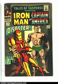 Tales of Suspense Lot of #79 and #80 (Marvel, 1960s) Condition: averages VG+. Iron Man vs. Sub-Mariner issues. Overstree...