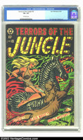 Golden Age (1938-1955):Adventure, Terrors of the Jungle #10 (Star, 1954) CGC VF+ 8.5 Off-white pages. Beautiful L.B. Cole cover. Last issue. Overstreet 2002 V...