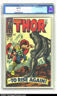 Thor #151 (Marvel, 1968) CGC NM 9.4 Off-white pages. Overstreet 2002 NM 9.4 value = $45