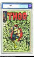 Silver Age (1956-1969):Superhero, Thor #154 (Marvel, 1968) CGC NM 9.4 Off-white pages. Overstreet 2002 NM 9.4 value = $45....