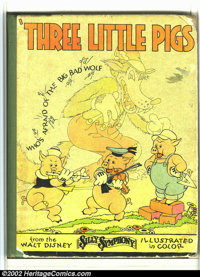 Three Little Pigs nn (Blue Ribbon Books, 1933) Condition: GD. This rare book is not listed in Overstreet or Hake's. It i...