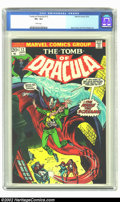 Bronze Age (1970-1979):Horror, Tomb of Dracula #12 (Marvel, 1973) CGC VF+ 8.5 White pages. GeneColan and Tom Palmer art. Overstreet 2002 VF 8.0 value = $1...