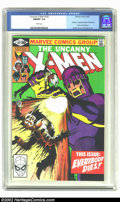 Modern Age (1980-Present):Superhero, Uncanny X-Men #142 (Marvel, 1981) CGC NM/MT 9.8 White pages. Thisclassic issue features the death the alternate future Wolv...