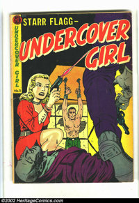 Undercover Girl #5 (Magazine Enterprises, 1952) Condition = VG. Classic Fifties Crime title featuring Starr Flagg and Fa...