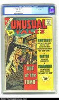 Silver Age (1956-1969):Horror, Unusual Tales #32 File Copy (Charlton, 1962) CGC NM 9.4 Off-whitepages. Overstreet 2002 NM 9.4 value = $35....