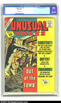 Silver Age (1956-1969):Horror, Unusual Tales #32 (Charlton, 1962) CGC VF+ 8.5 Off-white pages.Overstreet 2002 VF 8.0 value = $23; NM 9.4 value = $35. ...