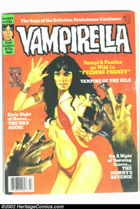 Vampirella #113 (Warren, 1988) Condition: FN+. Here is the incredibly rare last issue! Overstreet notes that this is the...