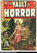 Golden Age (1938-1955):Horror, Vault of Horror #23 (EC, 1952) Condition: GD. Trimmed, tape andextra staples....