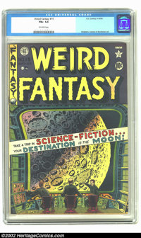 Weird Fantasy 15 (#3) (EC, 1950) CGC FN+ 6.5 Off-white pages. Overstreet 2002 FN 6.0 value = $168