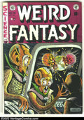 Golden Age (1938-1955):Science Fiction, Weird Fantasy #16 (EC, 1952) Condition: VG+. Fantastic Al Feldsteincover. Overstreet 2002 GD 2.0 value = $29; FN 6.0 value ...