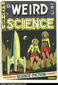 Golden Age (1938-1955):Science Fiction, Weird Science #7 (EC, 1951) Condition: VG+. Beautiful Al Feldsteincover. Overstreet 2002 GD 2.0 value = $45; FN 6.0 value =...
