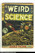 Golden Age (1938-1955):Science Fiction, Weird Science #11 (EC, 1952) Condition = GD. Great rocket cover byAl Feldstein. Overstreet 2002 GD 2.0 value = $31....