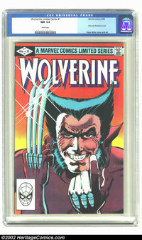 Wolverine Limited #1 (Marvel, 1982) CGC NM 9.4 White pages. Frank Miller cover and art. Extremely nice, high-grade book...