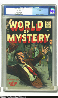World of Mystery #6 Circle 8 pedigree (Atlas) CGC VF 8.0 Off-white to white pages. Art by Al Williamson, Reed Crandall a...