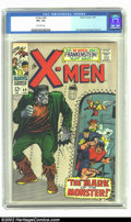 Silver Age (1956-1969):Superhero, X-Men #40 (Marvel, 1968) CGC VF+ 8.5 Off-white pages. Fantastic Frankenstein cover. Overstreet 2002 VF 8.0 value = $65; NM 9...