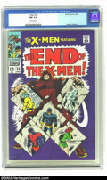 Silver Age (1956-1969):Superhero, X-Men #46 (Marvel, 1968) CGC NM 9.4 Off-white pages. Overstreet 2002 NM 9.4 value = $95. ...